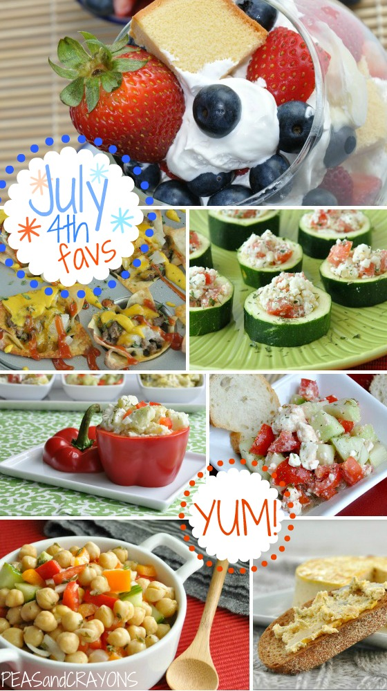 Healthy 4th of July Summer Recipes