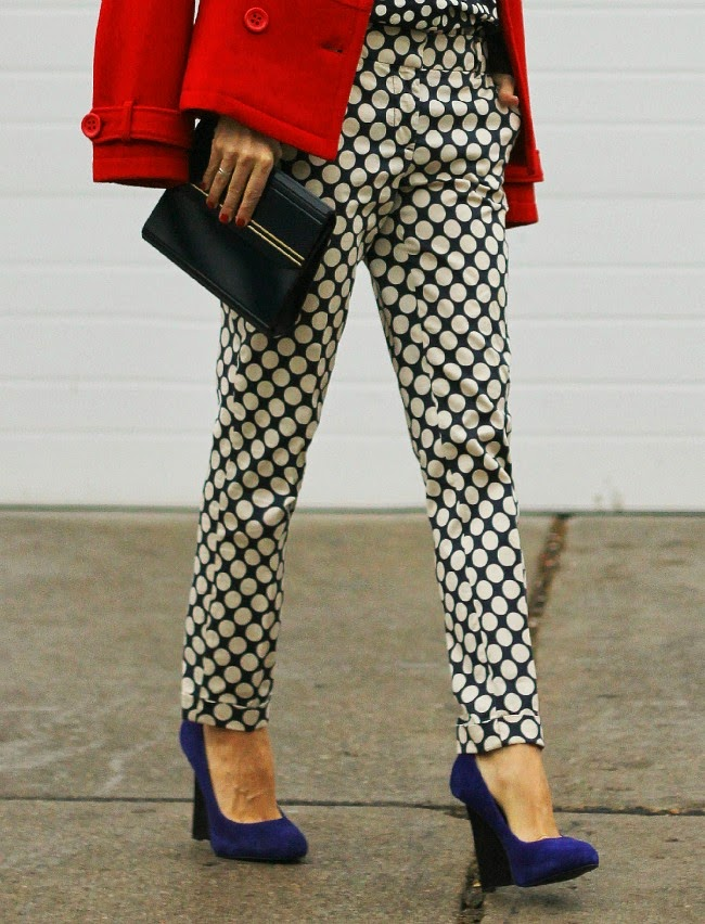 j.crew polka dots retro david dixon shoes amadeusonthecatwalk