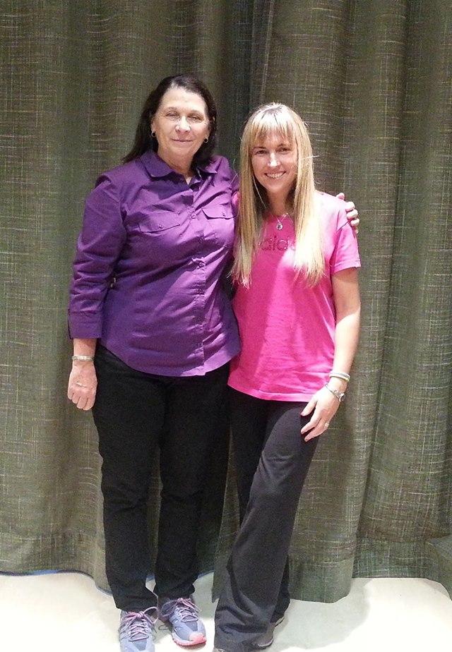Junto a ¡¡  Michele Pouliot !! Maestra de Dog Dancing