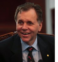 Dr. Barry Marshall, who swallowed H. pylori, proving that it causes stomach ulcer.