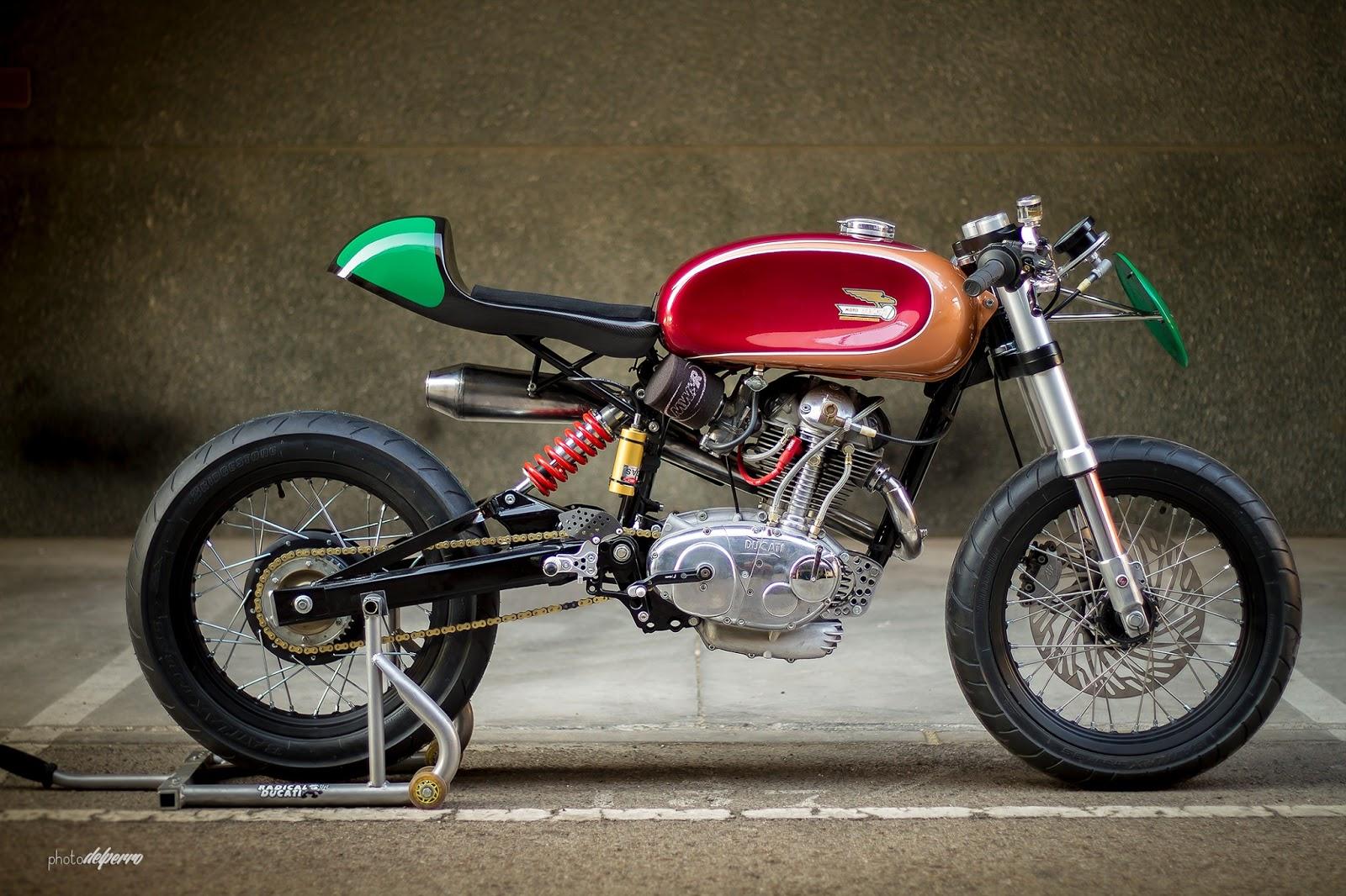 Ducati 125 Ts Radical F3 Return Of The Cafe Racers