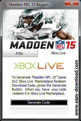 Madden NFL 15 Keygen