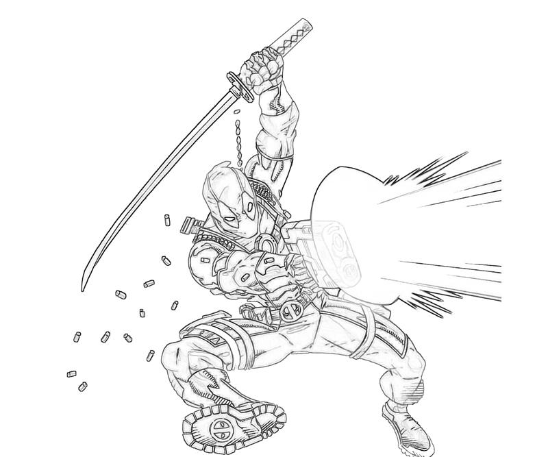 printable deadpool marvel_coloring pages 5
