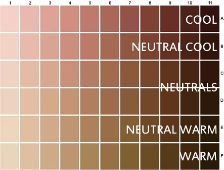 Liegh 39 S Corner Understanding Skin Tones Undertones