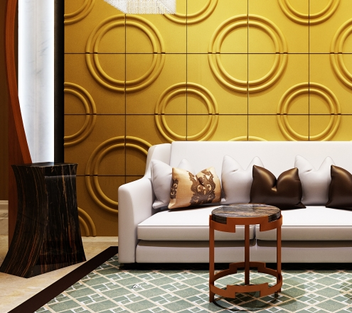 Awesome 3d wall panels and interior wall paneling ideas for Living room paneling designs