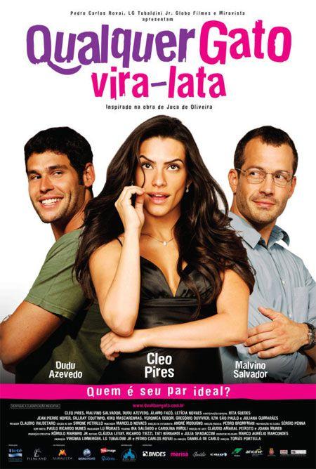 Filme Poster Qualquer Gato Vira-Lata DVDRip XviD & RMVB Nacional