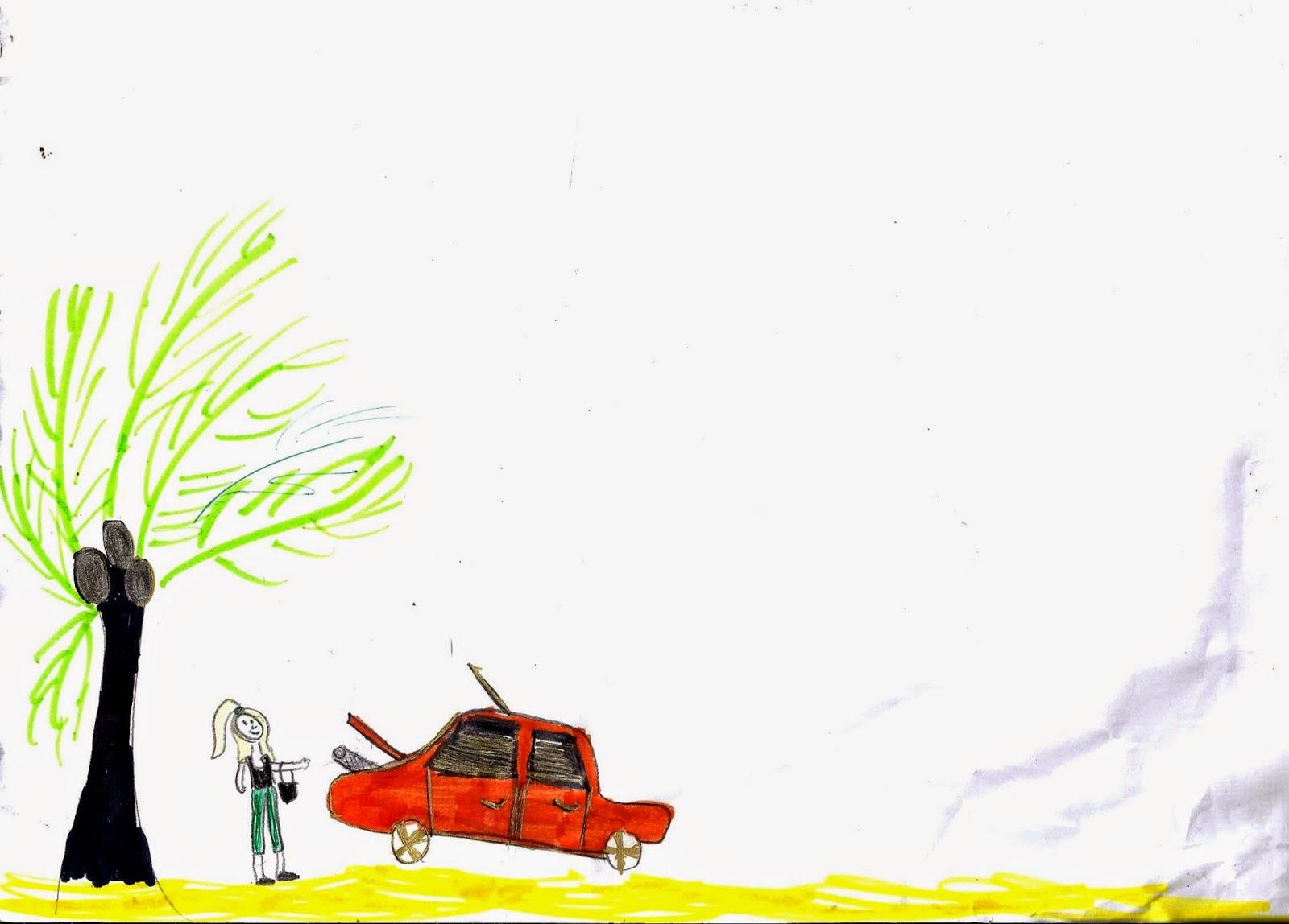 Les dessins de lala voiture en panne for Reprise voiture en panne garage
