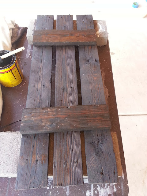Just add some java july 2013 for How to make shutters from pallets