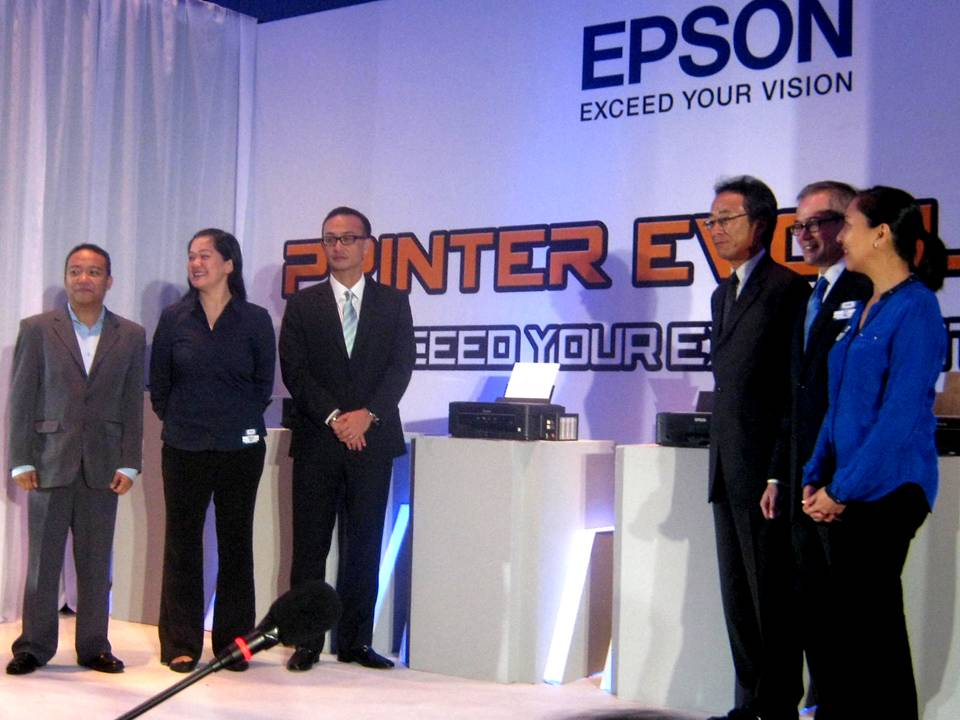 Epson Philippines Launches The New L-Series Ink Tank System Printers