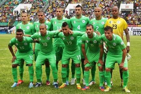 | ALGERIA #FIFA 2014 |
