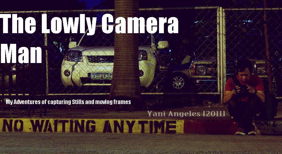 The Lowly Camera Man