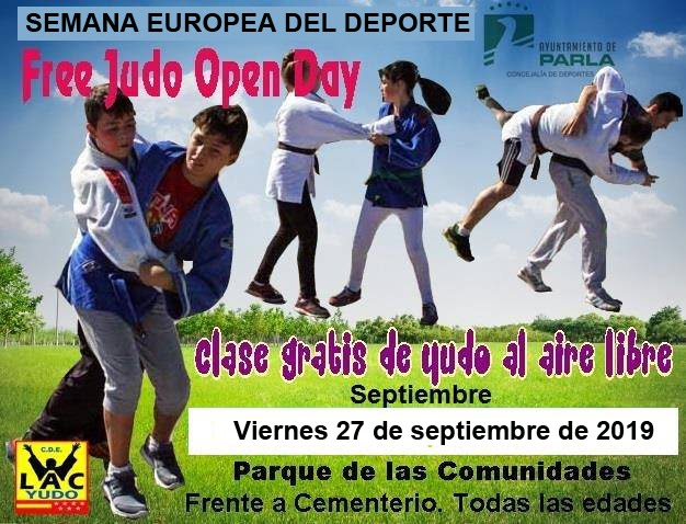 Free Judo Open Day