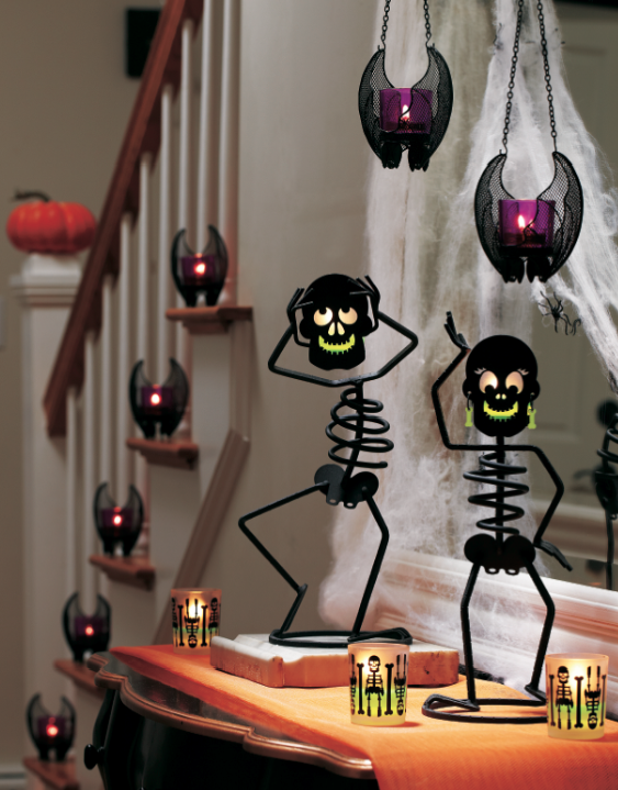 halloween with partylite