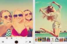 Retrica: app Android para tomar fotos selfies y editarlas con filtros, marcos, y efectos