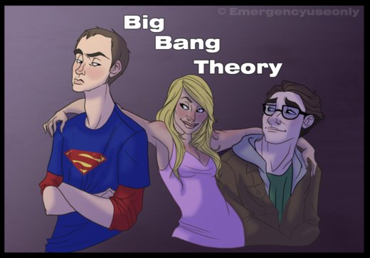 Gift art: Big Bang Theory por Emergencyuseonly