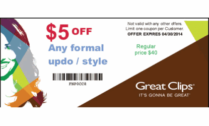 Greatclips com coupons