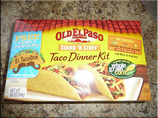 Old El Paso flat bottom taco shell kit