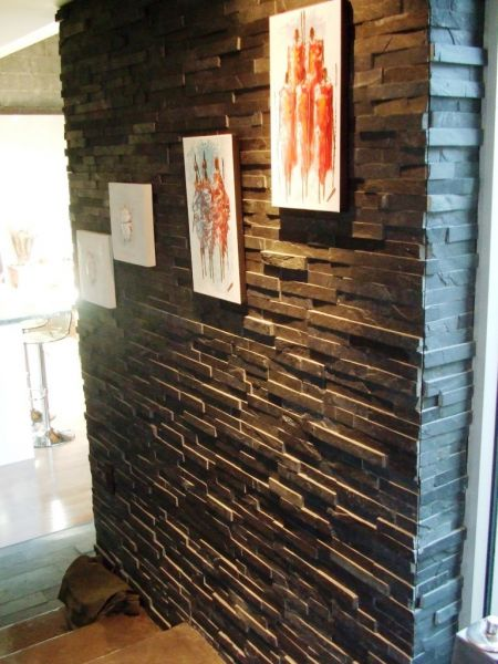 c mo limpiar una pared de piedra casas decoracion. Black Bedroom Furniture Sets. Home Design Ideas
