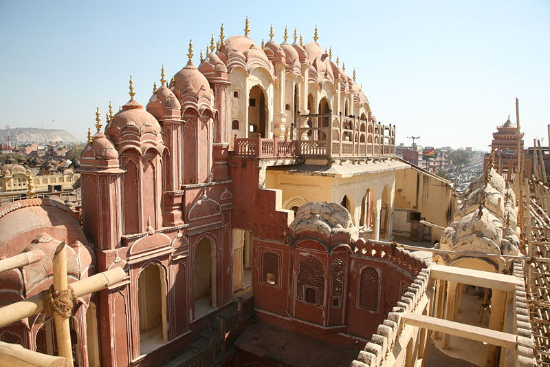 Jaipur rajasthan india the land of hearts for Architecture inde