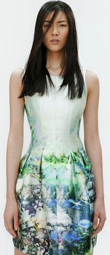 Zara vestidos primavera verano 2012