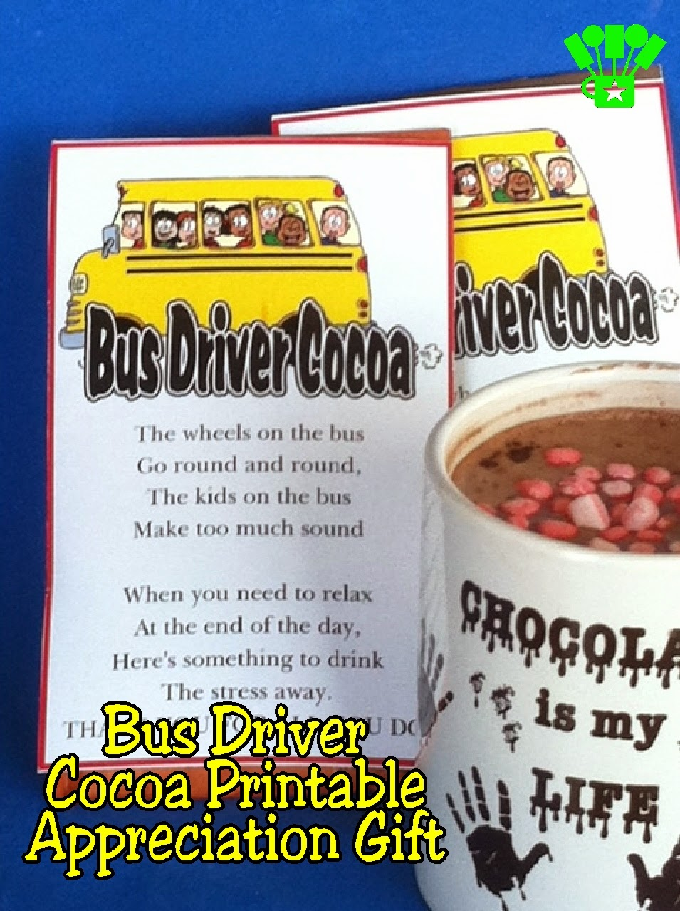 school bus driver end of year gifts | just b.CAUSE
