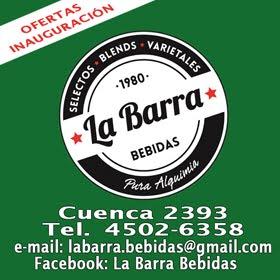 LA BARRA - BEBIDAS