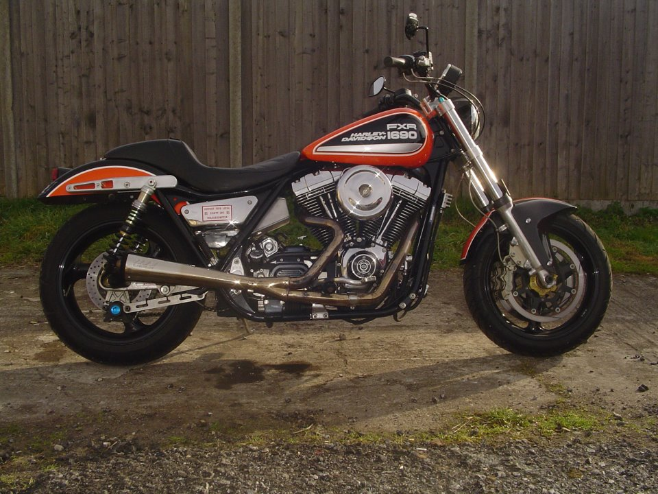 Hot Rod Harley >> rocksolidmotorcycles: Harley Davidson FXR