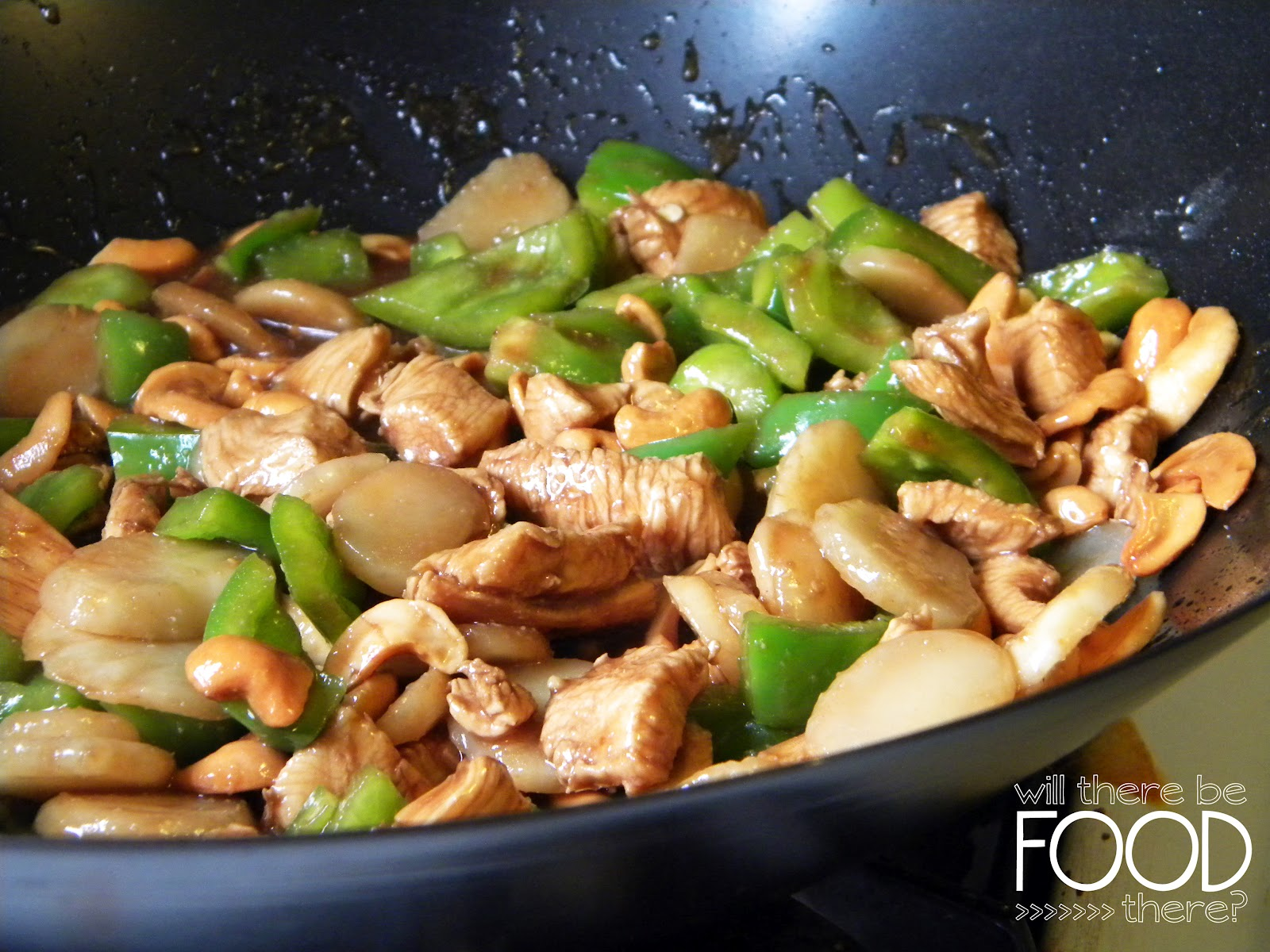 WILL THERE BE FOOD THERE?: First Follower Friday: Cashew Chicken