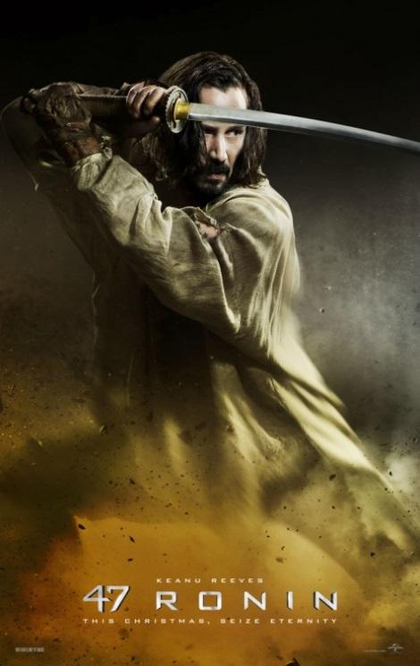 Keanu Reeves 47 Ronin Poster