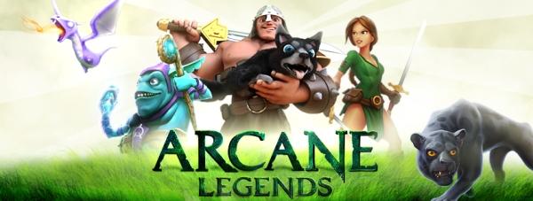 Arcane Legends Game mmorpg terbaik terpopuler android