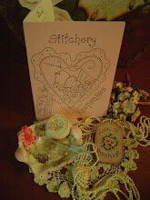 """STITCHERY KEEPSAKES"" my new little stitchery booklet."