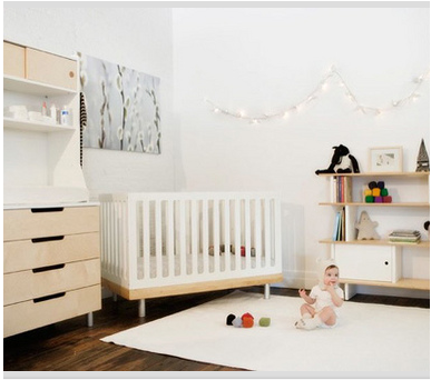 Living the anthropologie way of life how to create a Scandinavian baby nursery