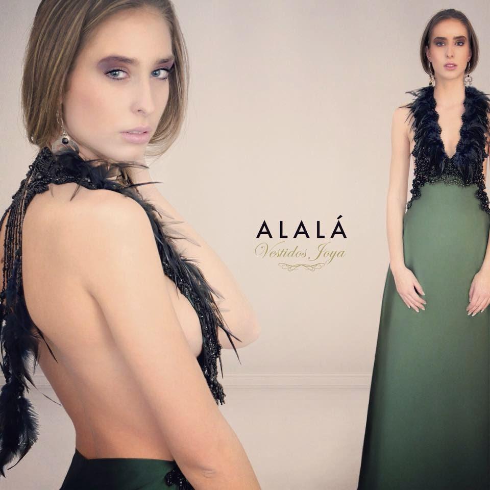 Otro de los vestidos joya insignia del buen hacer de Alalá