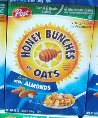 Get your day started with a bowl of Honey Bunches of Oats Cereal