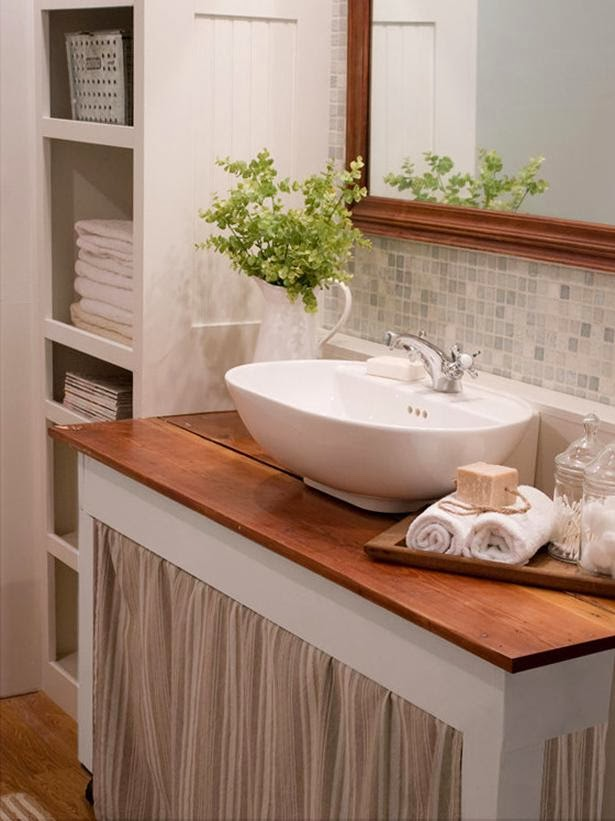 Modern Furniture: 2014 Clever Storage Tips for Small Bathrooms