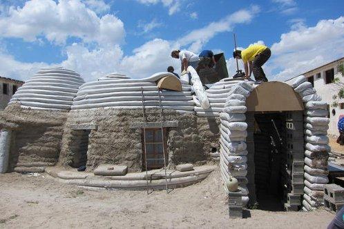 Materiales de una casa bioclimatica