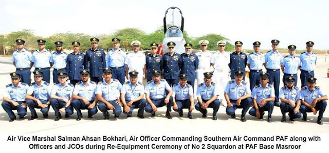 PAF Re-Equip Squadron No 2 Minhas with JF-17