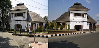Tempat Wisata Sejarah dan Arsitektur Gedung Kembar Purwakarta