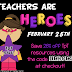 Teachers Are HEROES TPT Sale! Save 28% off ALL items!