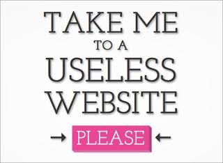 the useless web, مواقع غير مفيدة,