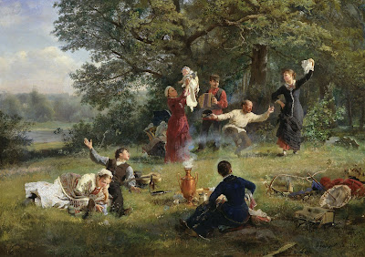 Alexei Korzukhin, The Sunday, 1884