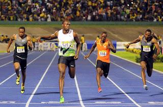 usain bolt running olympic champion london olympics 2012