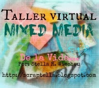 Taller virtual gratuito mixed media