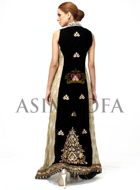 EmbroideredLongSalwarkameez28229 - Asim Jofa Semi Formal Long kameez Designs 2013 | Asim Jofa 2013