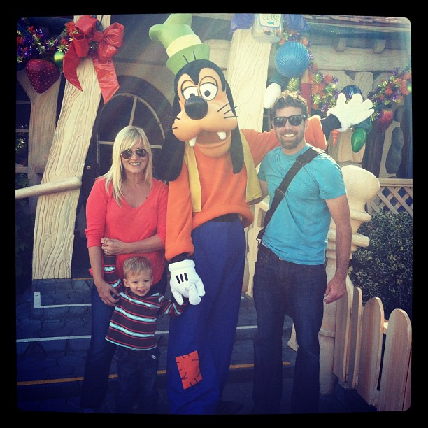 birthday celebration at disneyland
