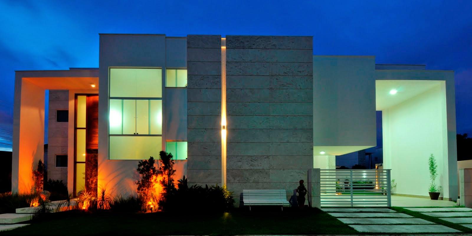 Fachada moderna fachadas de casas tattoo design bild for Casa moderna wallpaper