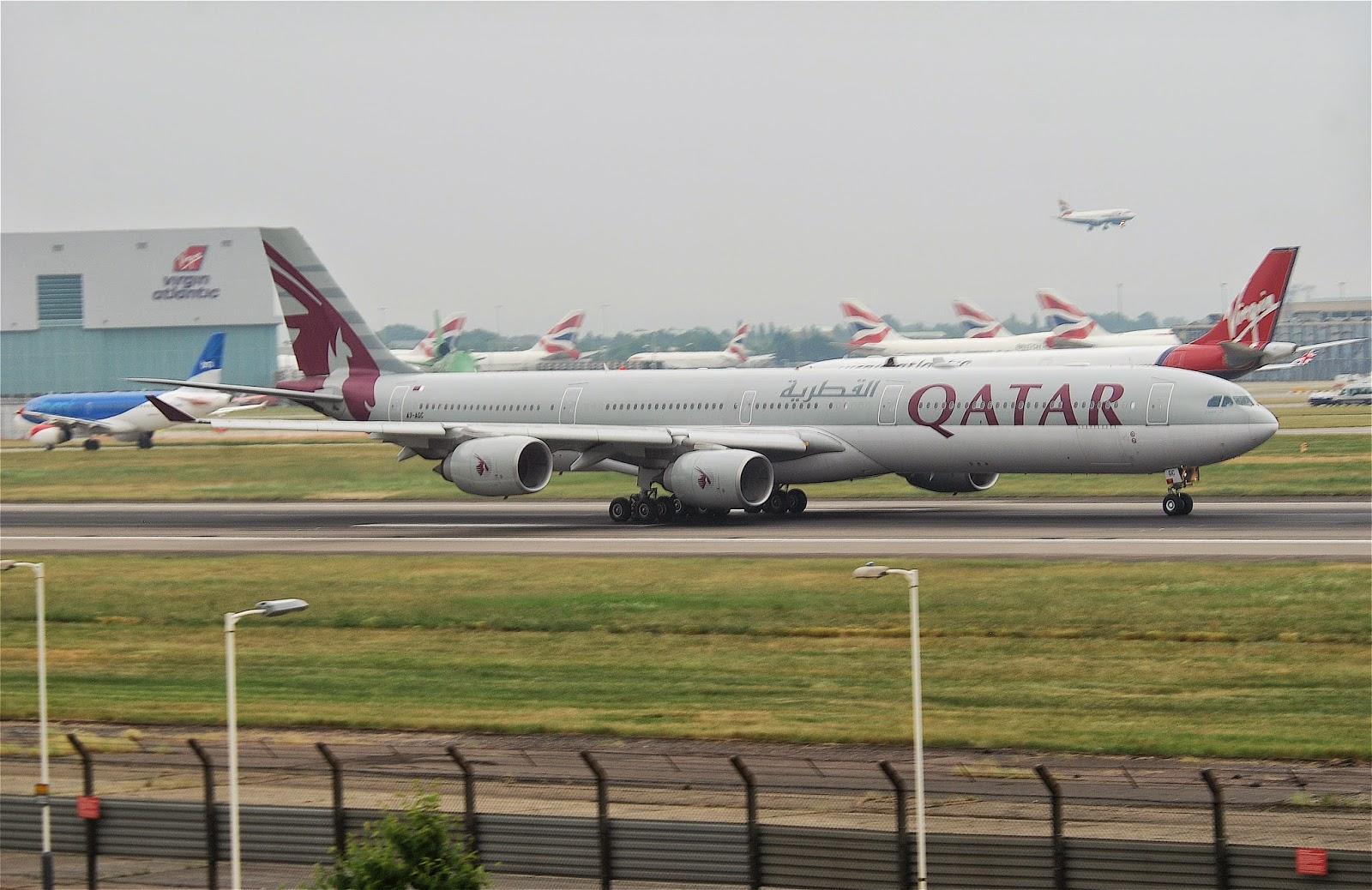 Behramjee's Airline News: Qatar Airways new Airbus A340 ...