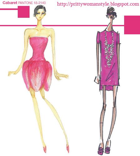 Секси Розово Cabaret PANTONE 18-2140