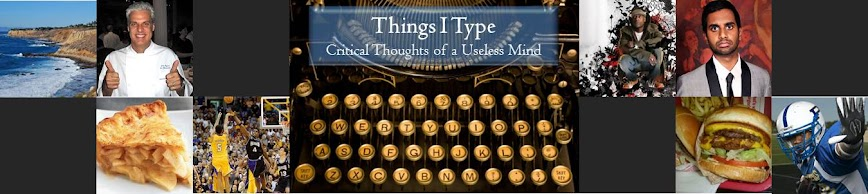 Things I Type