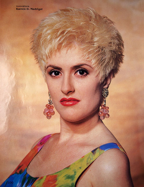 short hair 80 s hairstyles
